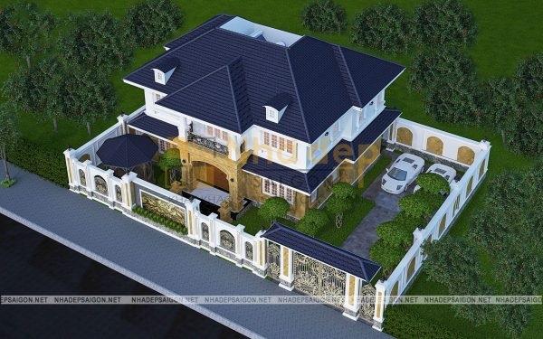 Nhà Đẹp Sài Gòn – là đơn vị thiết kế và thi công biệt thự uy tín