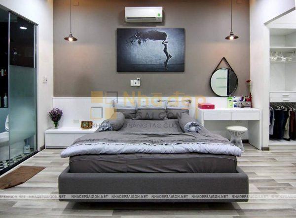 Phòng ngủ ấm áp và yên tĩnh