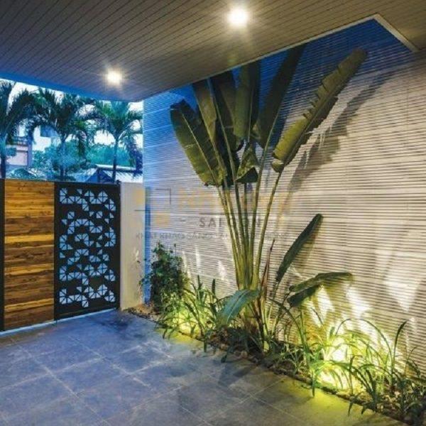 Ngôi nhà được kết hợp không gian xanh