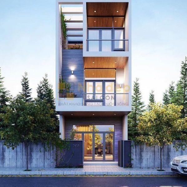 Thi công nhà phố Quận 4 – bước hoàn thiện ngôi nhà