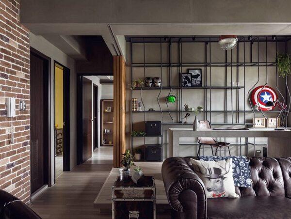 Phong cách thiết kế nội thất hiện đại Industry