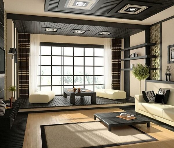 Phong cách thiết kế nội thất hiện đại Nhật Bản