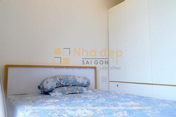 Không gian phòng ngủ 1 được thiết kế phòng vệ sinh khép kín