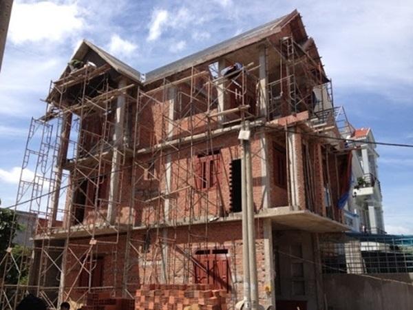 Công việc trong xây dựng nhà phần thô