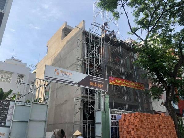 Công việc xây nhà phần thô Quận 2 cơ bản