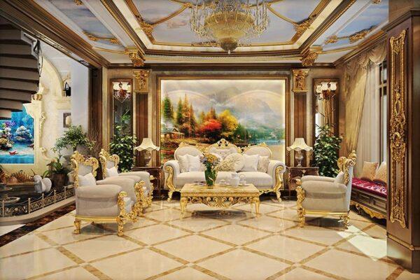 Phong cách cổ điển lấy cảm hứng từ vẻ đẹp nghệ thật của châu Âu thế kỉ 17,18.