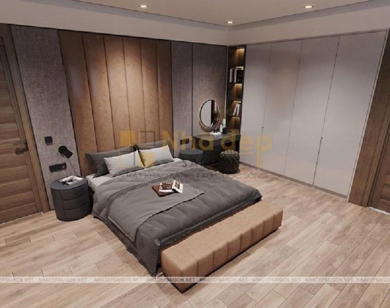 Mẫu 2: nội thất phòng ngủ hiện đại đơn giản
