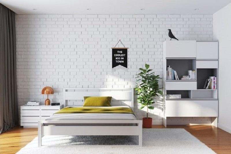 Mẫu 5: nội thất phòng ngủ hiện đại, đơn giản