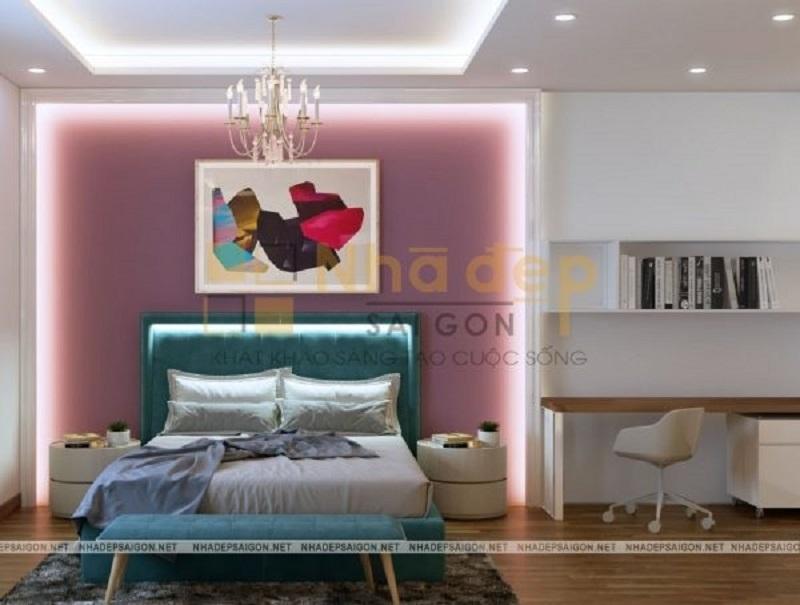 Mẫu 6: nội thất phòng ngủ hiện đại, đơn giản