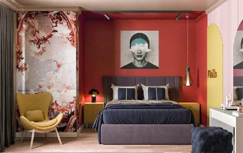 Mẫu 7: nội thất phòng ngủ hiện đại, đơn giản