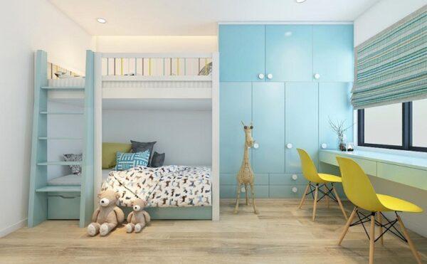 Bé tự do lựa chọn mẫu phòng ngủ theo màu yêu thích.
