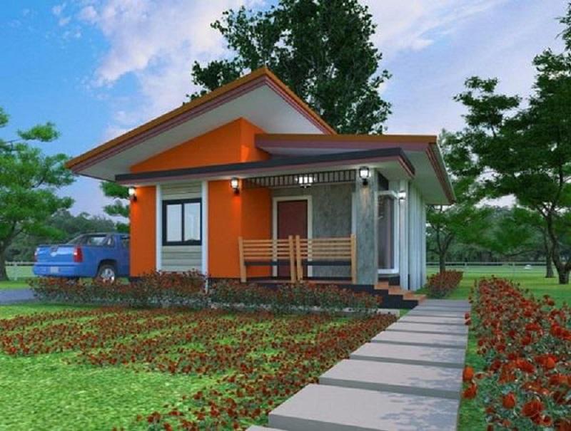 Nhà cấp 4 mái nghiêng phù hợp cho cả nông thôn và thành thị và có thể kết hợp với nhiều phong cách thiết kế khác nhau tạo nên nét đa dạng trong kiến trúc và thẩm mỹ cho ngôi nhà