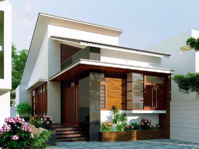Mái nghiêng có khả năng thoát nước nhanh chóng, hạn chế tối đa nguy cơ thấm dột trần nhà. Khi lợp nhà bằng ngói hay mái tôn lạnh sẽ giúp ngôi nhà có khả năng chống nóng tốt.