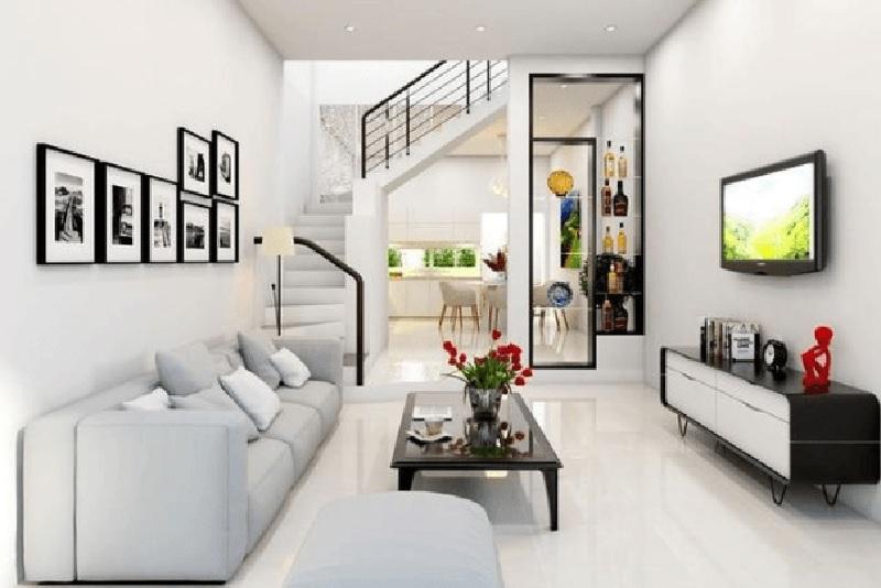 Phòng khách là nơi được đầu tư chi phí thiết kế, xây dựng nhiều nhất