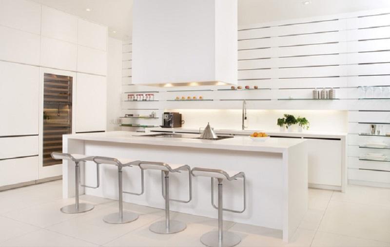 Mẫu nhà bếp nhỏ đẹp đơn giản số 6
