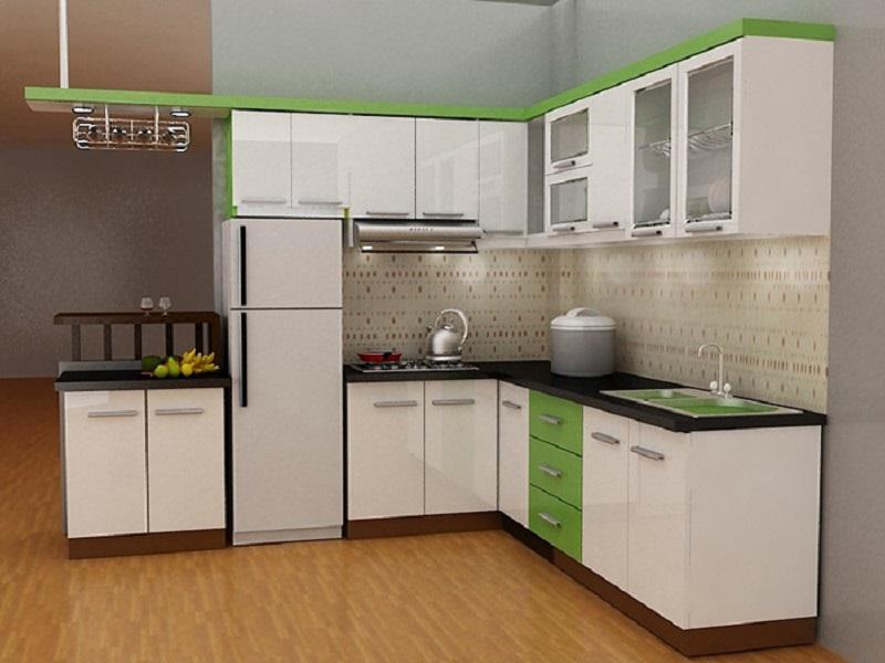 Mẫu nhà bếp nhỏ đẹp đơn giản số 7