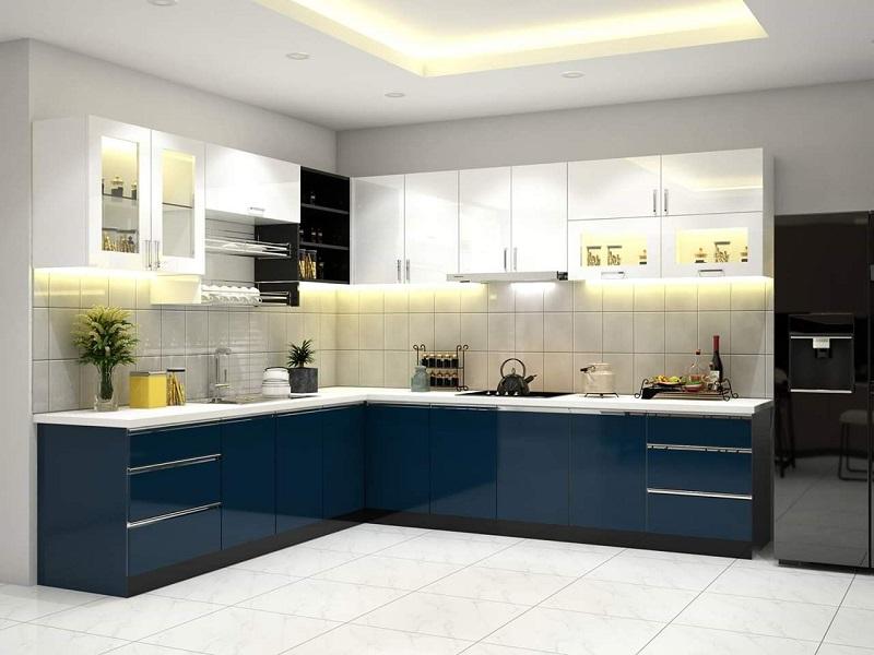 Mẫu nhà bếp nhỏ đẹp đơn giản số 8