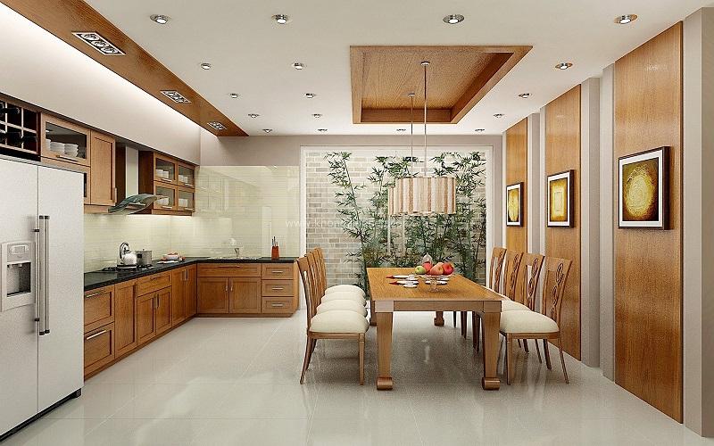 Mẫu nhà bếp nhỏ đẹp đơn giản số 9