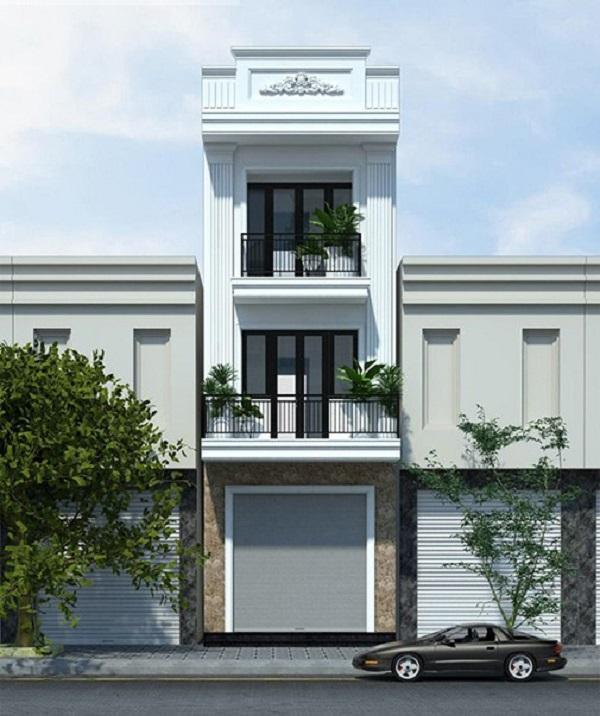 Mẫu thiết kế nhà phố 5m đẹp nhất kiểu 12