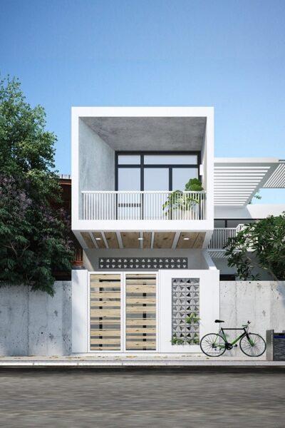 Mẫu thiết kế nhà phố 5m đẹp nhất kiểu 20